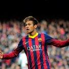 Neymar Jr FC Barcelona Epic Awesome Soccer Football 16x12 Print POSTER