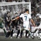 Cristiano Ronaldo Free Kick Real Madrid Soccer Football 32x24 Wall Print POSTER