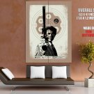 Dirty Harry Movie Magnum Clint Eastwood Art Giant Huge Print Poster