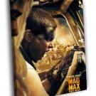 Mad Max Fury Road Imperator Furiosa Theron 50x40 Framed Canvas Print