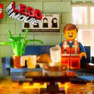 The Lego Movie Emmet Brickowoski Home 2014 32x24 Wall Print POSTER