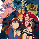 Gurren Lagann Characters Anime Manga Art 32x24 Wall Print POSTER