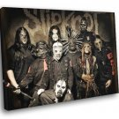 Slipknot Heavy Nu Metal Band Music 50x40 Framed Canvas Print