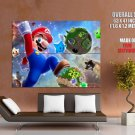 Mario Video Game Galaxy Giant Huge Print Poster