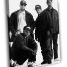NWA Rare DJ Yella MC Ren Eazy E Dr Dre Band 50x40 Framed Canvas Print