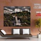Snoqualmie Falls Twin Peaks TV Show Waterfall Giant Huge Print Poster