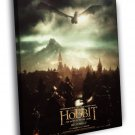 The Hobbit The Battle Of The Five Armies Smaug 50x40 Framed Canvas Print