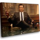 Mad Men Drama TV Series Don Draper Jon Hamm 50x40 Framed Canvas Art Print