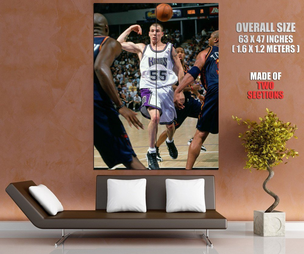 Jason Williams No Look Pass Sacramento Kings Sport Giant Huge Print Poster