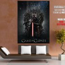 Darth Vader Star Wars Awesome Cool Art GIANT Huge Print Poster