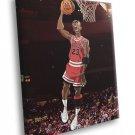 Michael Jordan Cool Art Chicago Bulls Basketball 50x40 Framed Canvas Print