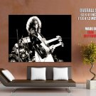 Led Zeppelin Rock Band Group BW GIANT Huge Print Poster