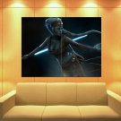 Aayla Secura Jedi Master Lightsaber Star Wars Art Huge Giant Print Poster
