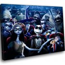 The Nightmare Before Christmas Jack Skellington 30x20 Framed Canvas Art Print