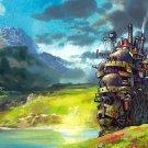 Howl S Moving Castle Painting Anime Manga Art 24x18 Wall Print POSTER