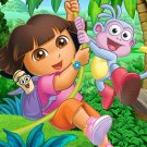Dora The Explorer Beautiful Cartoon Art 24x18 Wall Print POSTER