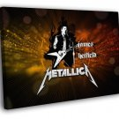 Metallica Amazing James Hetfield Art Band 50x40 Framed Canvas Print