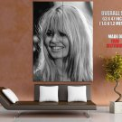 Brigitte Bardot French Actress Sex Symbol Vintage Giant Huge Print Poster