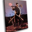 The Evil Dead Movie Bruce Campbell 40x30 Framed Canvas Art Print