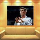 Gareth Bale Heart Real Madrid Wales Football Soccer Huge Giant Print Poster
