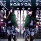 Attack On Titan Shingeki No Kyojin Rivaille Levi Anime 32x24 Wall Print POSTER