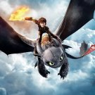 How To Train Your Dragon Animated Film 32x24 Wall Print Poster