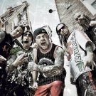 Five Finger Death Punch FFDP 5FDP Art Groove Rock Band 24x18 Wall Print POSTER