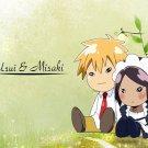 Kaichou Wa Maid Sama Misaki Takumi Painting Cute Anime 16x12 Print POSTER