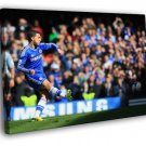 Eden Hazard Shot Awesome FC Chelsea Football 40x30 Framed Canvas Print