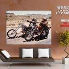 Easy Rider American Road Movie Bikers Fonda Hopper Giant Huge Print Poster