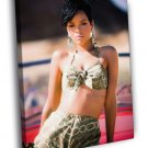 Rihanna Awesome Body Beautiful Hot Sexy Singer 50x40 Framed Canvas Print
