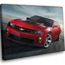 Chevrolet Camaro Chevy Cool Sport Car 50x40 Framed Canvas Art Print