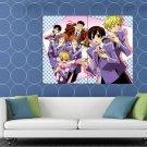 Ouran High School Host Club Characters Anime Manga Art HUGE 48x36 Print POSTER