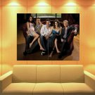 How I Met Your Mother Cast Characters Tv Series Huge Giant Print Poster