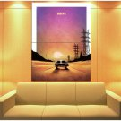Drive Movie 2011 Sunset Car Road Cool Art Huge Giant Print Poster