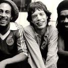 Bob Marley Mick Jagger Peter Tosh Backstage 1978 Retro 32x24 Wall Print POSTER