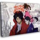 Samurai Champloo Painting Anime Manga Art 50x40 Framed Canvas Print