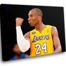 Kobe Bryant Los Angeles Lakers Basketball Sport 30x20 Framed Canvas Art Print