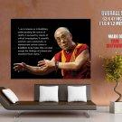 Dalai Lama Quotes Tibetan Buddhism Giant Huge Wall Print Poster