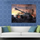 World Of Tanks Wz 111 Video Game Wo T Art Huge 48x36 Print Poster