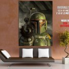 Boba Fett EE 3 Carbine Blaster Bounty Hunter Star Wars GIANT Huge Print Poster