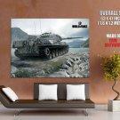 World Of Tanks Leopard I German WW2 Video Game WoT Art GIANT Huge Print Poster