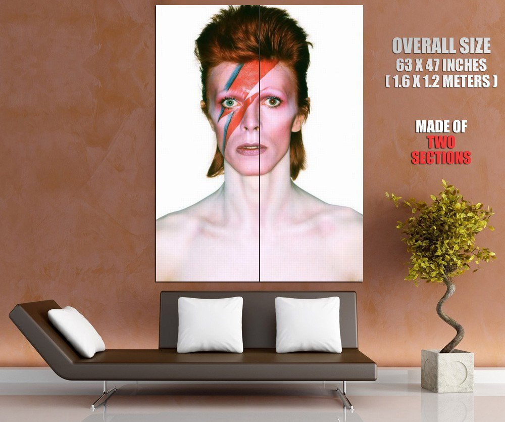 David Bowie Aladdin Sane Megastar Rock Music Giant Huge Print Poster