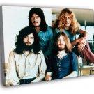 Led Zeppelin Retro John Bonham Robert Plant 50x40 Framed Canvas Print