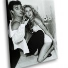 Sex And The City Mr Big Carrie Bradshaw Toilet Sex 50x40 Framed Canvas Art Print