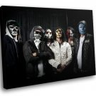 Hollywood Undead Rap Rock Band Music Masks 50x40 Framed Canvas Art Print