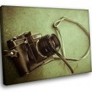 Camera Zenit Russian Brend Retro 50x40 Framed Canvas Art Print