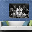 The Doors Amazing Rare Ray Robby John Jim Morrison Band HUGE 48x36 Print POSTER