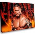 Randy Orton WWE Champion Wrestler 30x20 Framed Canvas Art Print
