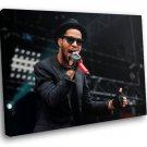 Kid Cudi Rapper Hip Hop Artist Music 30x20 Framed Canvas Art Print